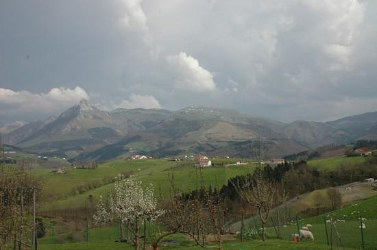 Monte Txindoki en Gipuzkoa
