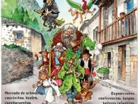 Fiesta en Barriopalacio de Anievas en Cantabria