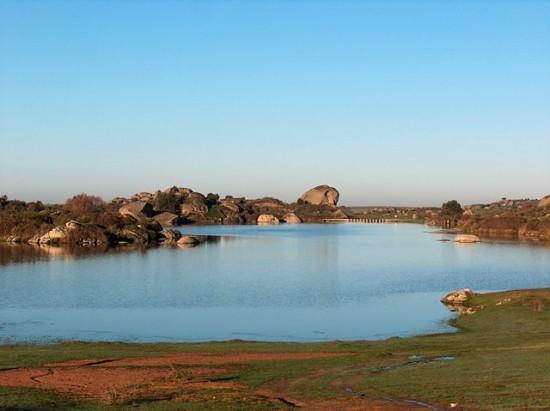 Monumento natural de Los Barruecos en Extremadura