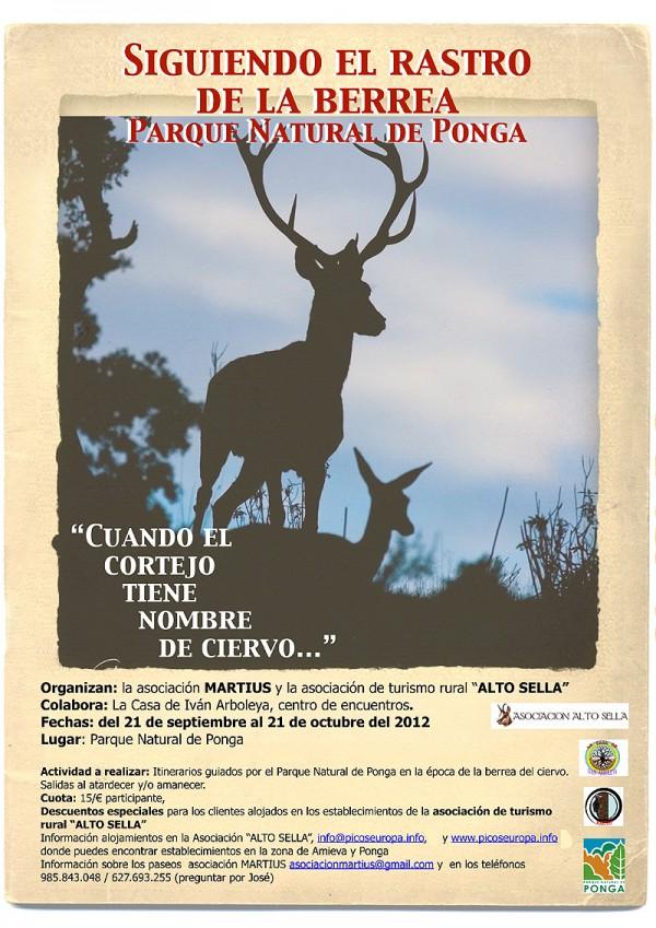 Tras el rastro de la berrea de los ciervos en Asturias