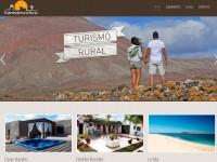 Página web de turismo rural en Fuerteventura