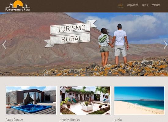 El turismo rural de fuerteventura se posiciona en internet for Paginas web sobre turismo