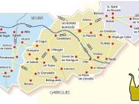 Ruta del aceite en la provincia de Lleida