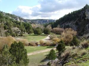 Parque Natural del Cañón del Río Lobos en Soria y Burgos