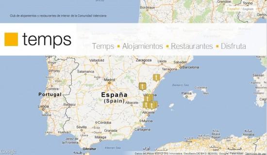 Temps es el club de establecimientos de turismo de interior de la Comunitat Valenciana